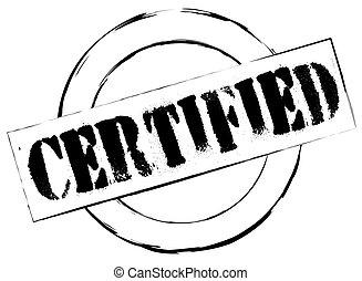 tampon, certifié