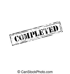 tampon, 'completed'