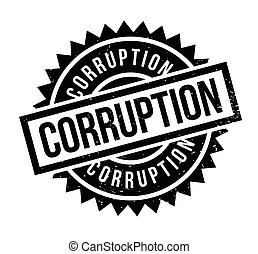 tampon, corruption
