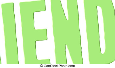tampon, eco, vert, amical