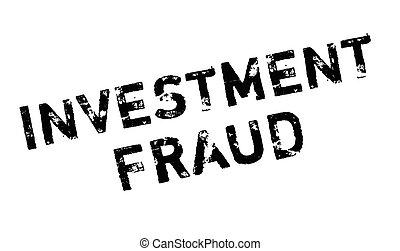 tampon, fraude, investissement