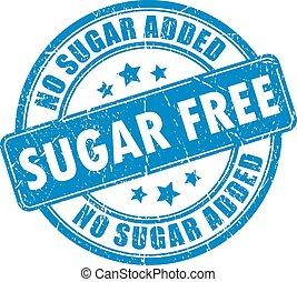 tampon, gratuite, sucre