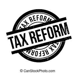 tampon, impôt, reform