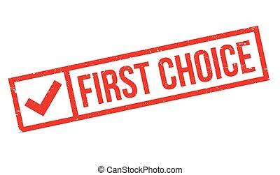 tampon, premier, choix