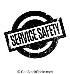 tampon, sécurité, service