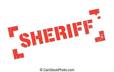 tampon, shérif