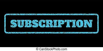 tampon, souscription