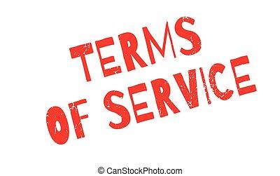 tampon, termes, service