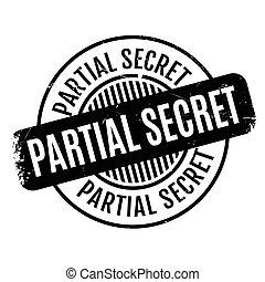 tampon, top secret, partiel