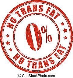 tampon, trans, graisse, non