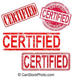 tampons, certifié