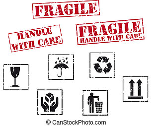 tampons, fragile