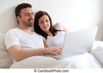 tanács, kutató, internet, fogyasztó, párosít, boldog