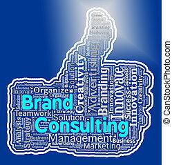 tanácsadó, erőforrások, társaság, rebranding, jel, márka, ...