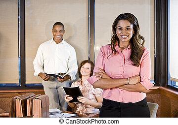 tanácskozóterem, változatosság, workplace, gyűlés