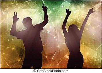 tančení, národ