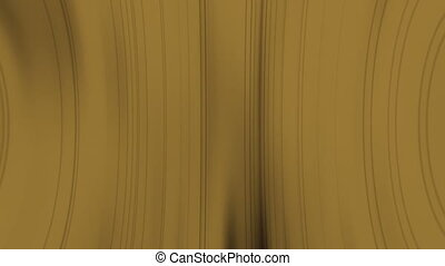 Abstract lines in tan curves looping CG animated background