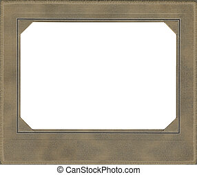 Tan Antique Frame