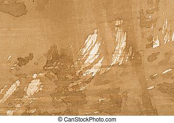 Tan Painted Concrete Background