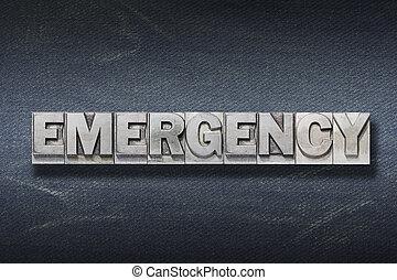 tana, emergenza, parola