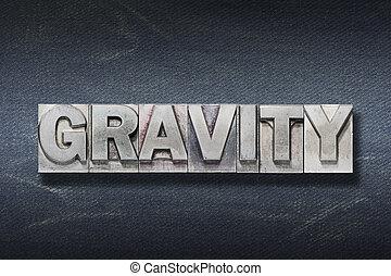 tana, parola, gravità