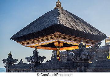 tanah, balinese, 建設, 寺院, たくさん