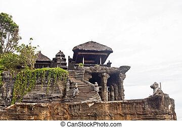 Tanah Lot temple (Bali island, Indonesia)