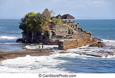Tanah Lot temple in Bali
