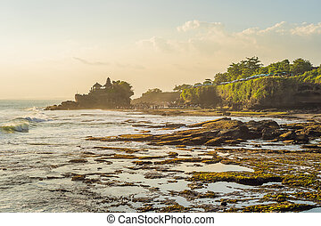 Tanah Lot - Temple in the Ocean Bali, Indonesia
