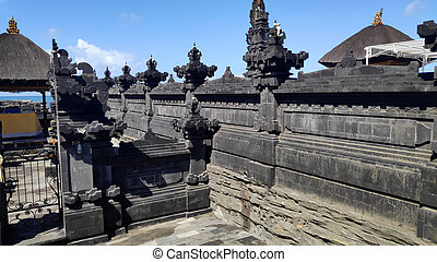 Tanah Lot Temple in the ocean in Bali