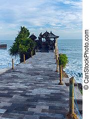 Tanah Lot Temple on Bali