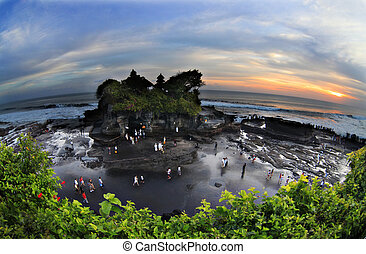 Tanah Lot Temple - The Tanah Lot Temple, the most important...