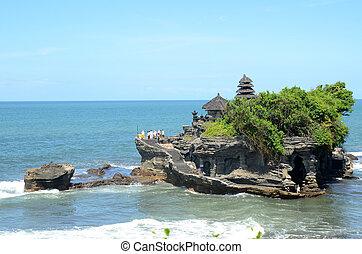 Tanah Lot water temple in Bali