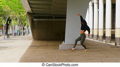 tancerz, taniec, most, miasto, samica, 4k, pod