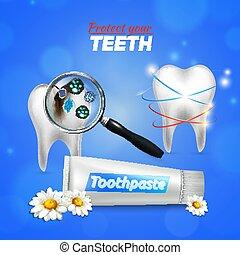 tand, dentale zorg, realistisch