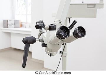 tandarts, microscoop