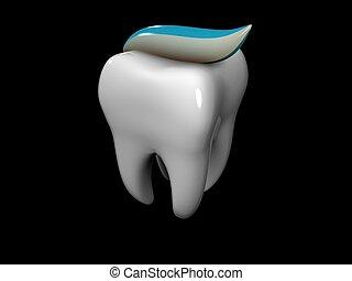 tandpasta, tand