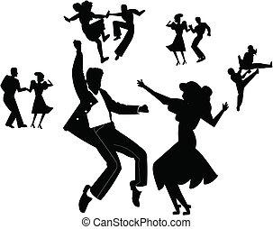 tanec, strana