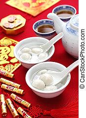 tang yuan, yuan xian, chinese food - tang yuan, yuan xian, ...