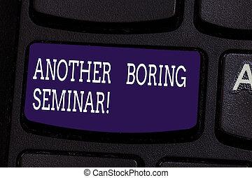 tangentbord, foto, brist, underteckna, dator, en annan, tangentbord, meddelande, konferens, skapa, seminar., intention, intressera, text, begreppsmässig, visande, ögonblick, nyckel, tråkig, tråkig, idea., tränga, eller