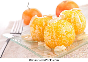 tangerine and nut