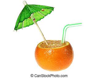 Tangerine drink