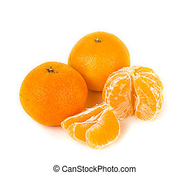 Tangerine fruits