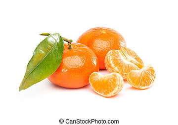Tangerine, Mandarin - Group of fruits with different names:...