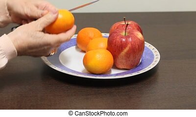 Tangerine. Mandarin