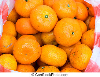 Tangerine Oranges Background