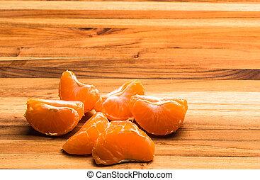 Tangerine Pieces