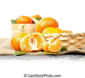 Tangerine Still Life
