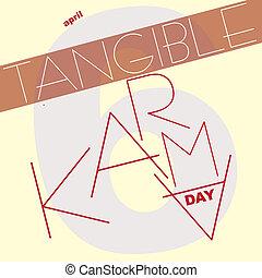 tangible, karma, tag
