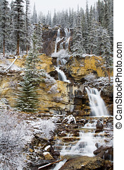 Tangle Falls in Winter